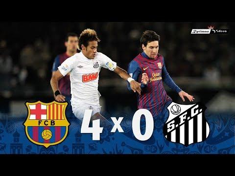 Barcelona 4 x 0 Santos (Messi x Neymar) ● 2011 FIFA Club World Cup Final Goals & Highlights HD