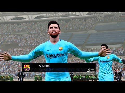Celta Vigo vs Barcelona | La Liga 17 April 2018 Gameplay