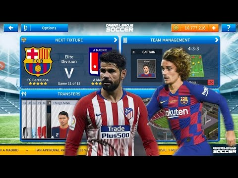 FC BARCELONA vs ATLETICO MADRID Big match |Realistic 4K gameplay |Dream league soccer 2019