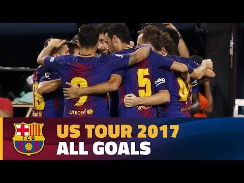 FC BARCELONA ICC 2017 | All the goals from the 2017 US Tour