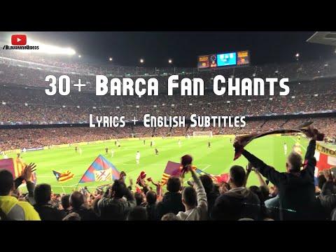 All FC Barcelona Fan Chants | Translation | 19/20 || HD