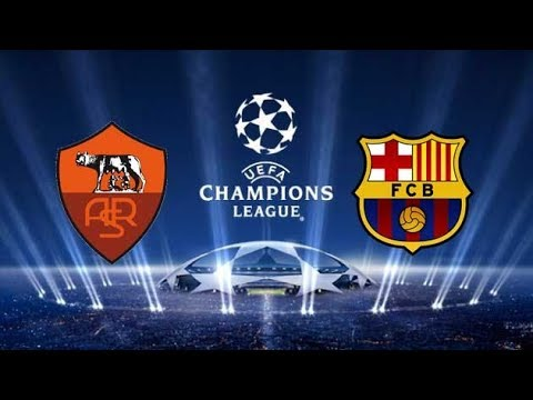 FC Barcelona vs AS Roma All Goals & Highlights HD who win? description below  and comment