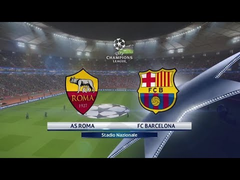 As Roma Vs Fc Barcelona – UCL LIVE