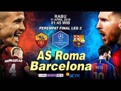 AS Roma vs Barcelona, Champions League live Streaming Online 2018  Fire Battle Game Play
