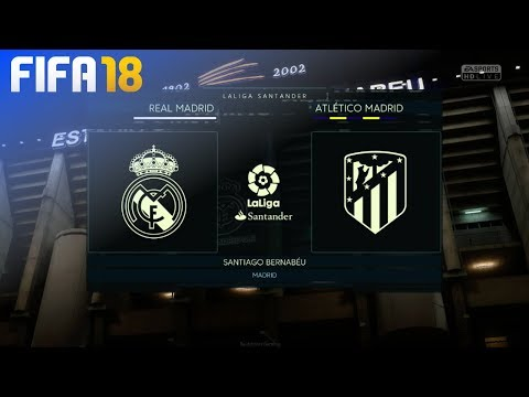 FIFA 18 Demo – Real Madrid vs. Atlético Madrid @ Estadio Santiago Bernabeu