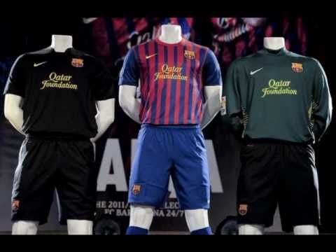 New *OFFICIAL* Barcelona Kits 2011/2012