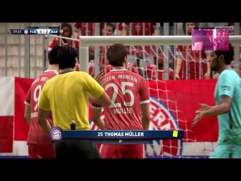 FC Bayern Munichen  Football team 0-3 FC Barcelona Football club