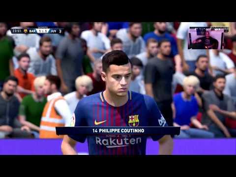 FC Barcelona 1 – 4 Juventus Turin   FIFA 18: Karrieremodus vorgestellt –