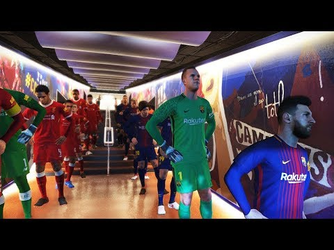 PES 2018 | Barcelona FC vs Liverpool | Full Match | Gameplay PC