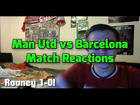 Manchester United 3-1 Barcelona Match Reaction PRE Season USA tour!
