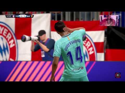 FC Bayern München 0 – 1 F.C. Barcelona – FIFA 18
