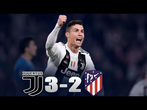 Juventus vs atletico Madrid 3-2 HD Highlights 2019