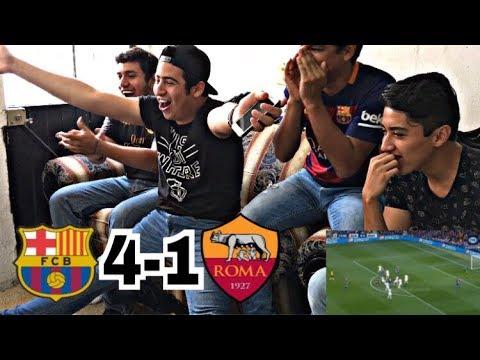 FC BARCELONA 4 – 1 ROMA  VIDEO REACCIÓN   RESUMEN  • JAIR ALEJANDRO