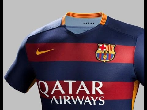 FC Barcelona 2015/2016 home jersey review  non-official