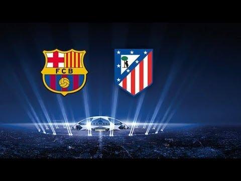FC Barcelona 2-0 Atletico Madrid – UEFA Champions League score prediction | FIFA 14