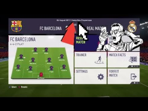 FIFA 18 CAMP NOU HOW TO CHANGE STADIUMS IN CAREER MODE