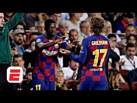 Should Barcelona's Ousmane Dembele start ahead of Antoine Griezmann? | UEFA Champions League