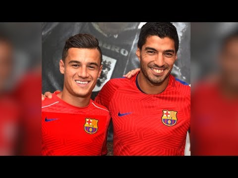 COUTINHO – Welcome to Barcelona *CAUGHT AT TRAINING GROUND*