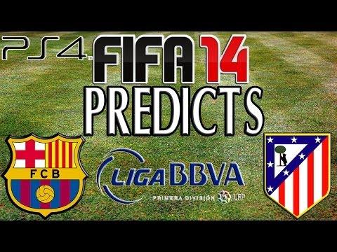FC Barcelona vs Atletico Madrid – 17/05/2014   FIFA 14 PREDICTS! (PlayStation 4)