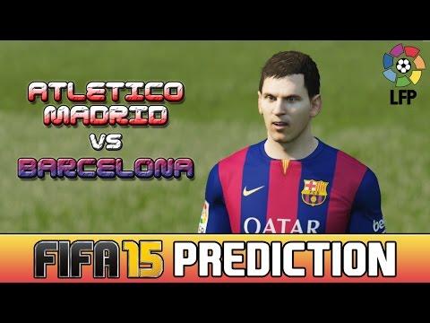 ATLETICO MADRID vs BARCELONA – FIFA 15 Prediction Highlights – 17/05/2015