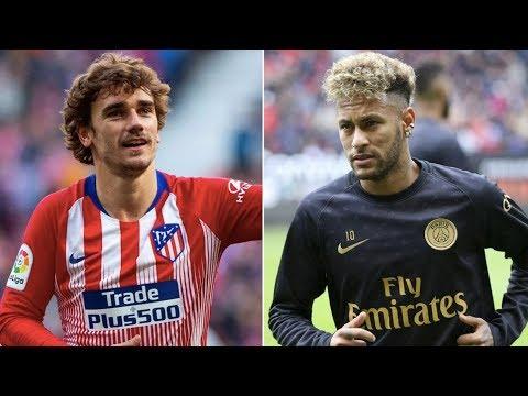 Barcelona News Round-up ft Neymar Jr & Antoine Griezmann