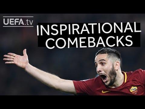 Inspiration for Roma: Great Champions League comebacks