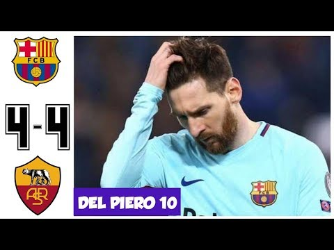 Barcelona vs AS Roma 4-4, Barca Disaster Night in Rome, UCL 2017/2018