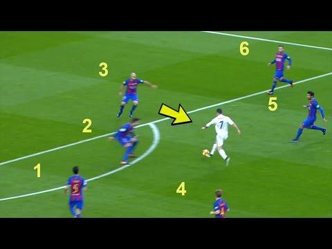 Cristiano Ronaldo DESTROYING Barcelona – Skills, Dribbles, Goals