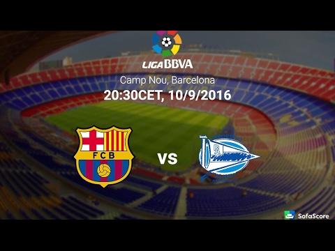 CD Alaves vs FC Barcelona [Premira Divisón] 11/02/2017 -FIFA 17 Predict