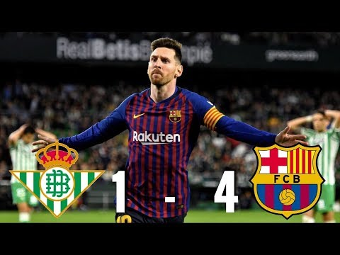 Real Betis vs Barcelona [1-4], La Liga 2018/19 – MATCH REVIEW