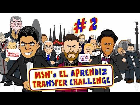 ?MSN El Aprendiz #2?Transfer Challenge – who will become Barca's New Boss?!
