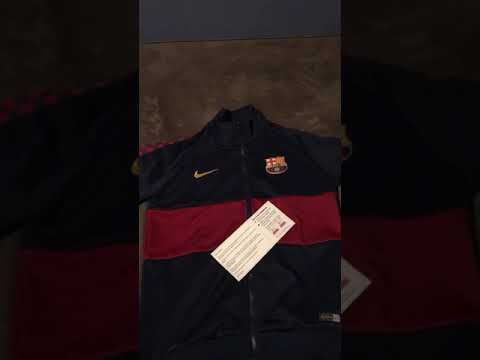 Minejerseys 19-20 Barcelona Navy + Red Training Jacket Unboxing Review
