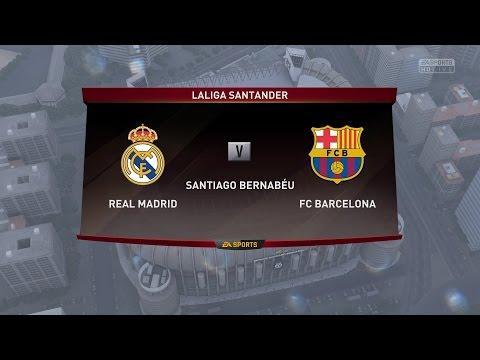 FIFA 17 : Full PC Gameplay – Real Madrid V/S FC Barcelona | 4K | 60fps | Maximum Settings