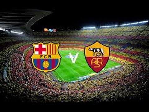 Fc barcelone vs as roma all goals 6-1