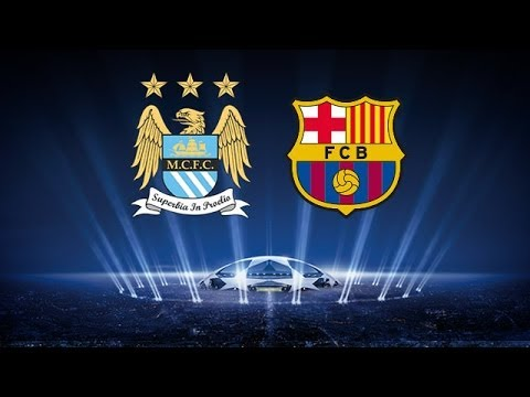 Fifa 14 Manchester City vs Barcelona Champions League  Prediction Highlights