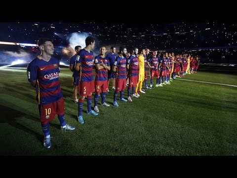 BEST MOMENTS – FC Barcelona 2015/16 presentation