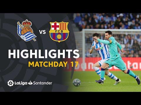 Highlights Real Sociedad vs FC Barcelona (2-2)