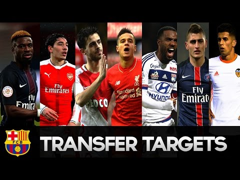 FC Barcelona Transfer Targets Summer 2017 HD