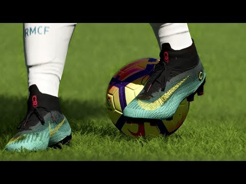 FIFA 18 New Boots: CRISTIANO RONALDO GOALS AND SKILLS 2018 | Nike Mercurial Chapter 6 | Pirelli7