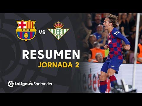 Resumen de FC Barcelona vs Real Betis (5-2)