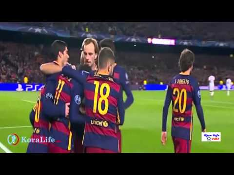 Champions League Barcelona vs Roma 6 1 ِAll Goals Highlights  24 11 2015