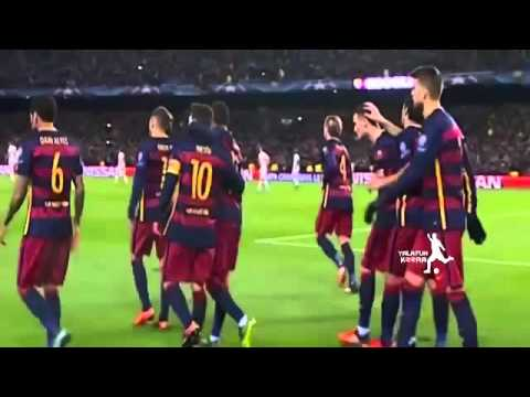Barcelona vs AS Roma 6-1 All Goals HD Champions league 24.11.15