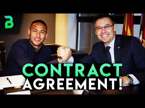 NEYMAR CONTRACT AGREEMENT! + Barcelona sells two players! Barcelona Transfer News | BugaLuis