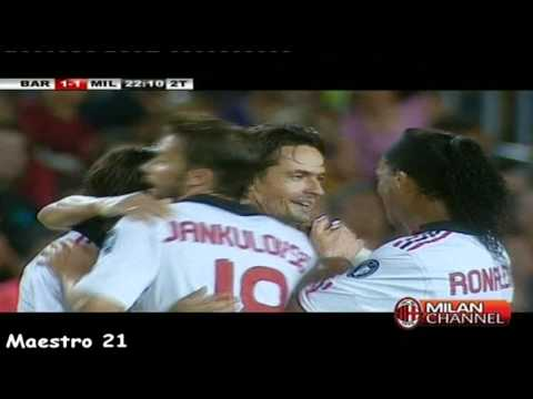 Super Pippo inzaghi Goal on Barcelona – 25/08/2010
