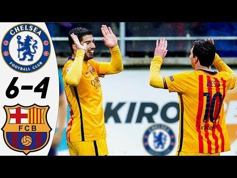 Chelsea vs Barcelona 6:4 – All Goals & Extended Highlights RESUMEN & GOLES (28/07/2015) HD