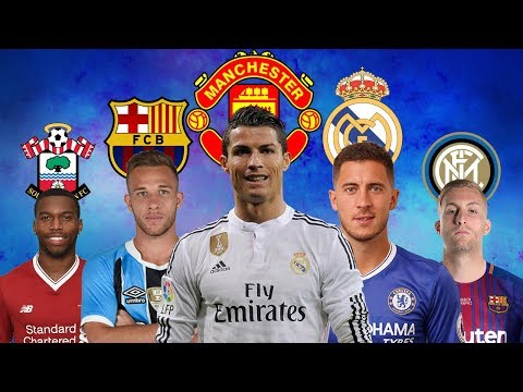 LATEST TRANSFER NEWS 2018 | Cristiano ronaldo to Manchester United, Arthur to Barcelona and more