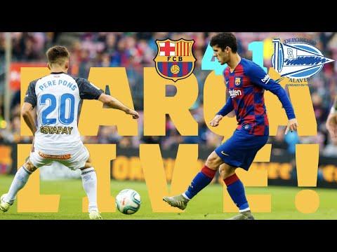 Barça 4 – 1 Alavés | BARÇA LIVE: Warm Up & Match Center #BarçaAlavés