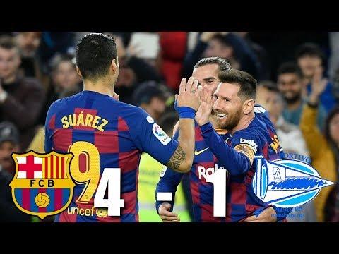 Barcelona vs Alaves [4-1], La Liga 2019/10 – MATCH REVIEW