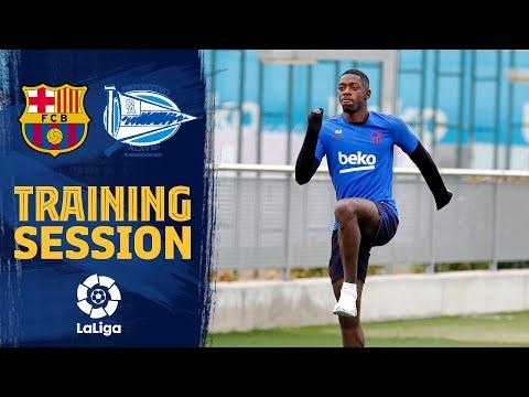 Dembélé and Arthur continue recovery process as their teammates gear up for Alavés clash