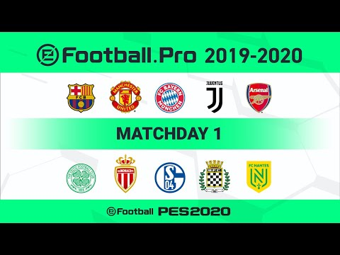 PES | FC Barcelona vs Juventus (Featured Match) | eFootball.Pro 2019-2020 #1 Full Match
